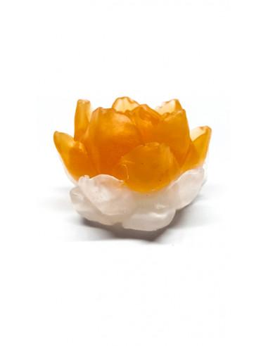 Jabon Nenufar Blanco-Naranja