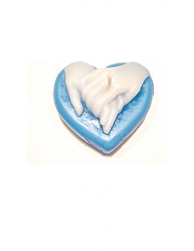 Vela Coramar Azul-Blanco