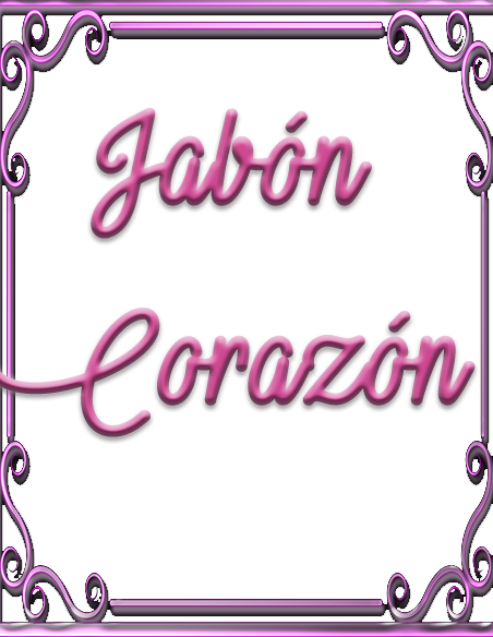 Jabon Corazon