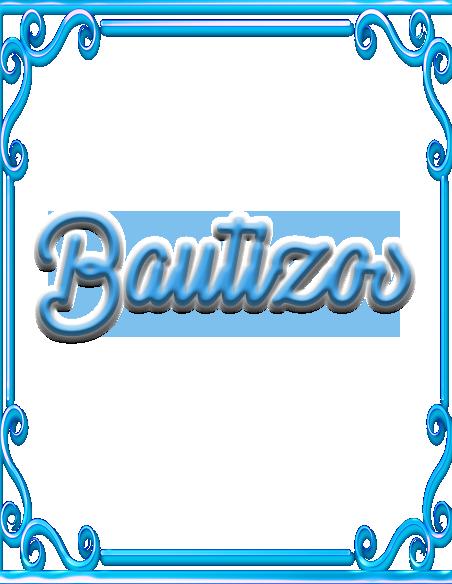 Bautizos